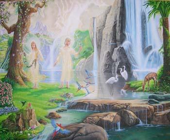 El jardin del eden for Cancion en el jardin del eden